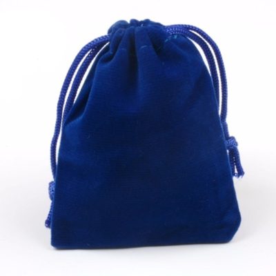 Cadeau Verpakking Fluweel Donker Blauw kopen