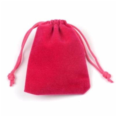 Cadeau Verpakking Fluweel Donker Roze kopen