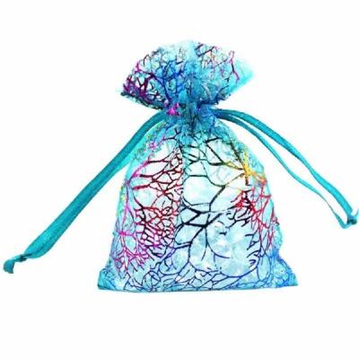 Cadeau Verpakking Organza Blauw Kleurrijk kopen