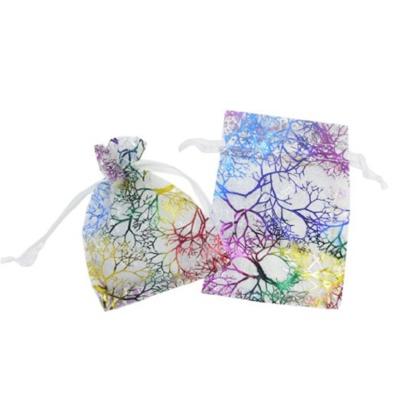 Cadeau Verpakking Organza Wit Kleurrijk kopen