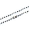 Ballchain Zilverkleurige Ketting RVS (40 t/m 100 cm)