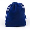 Cadeau Verpakking Fluweel Donker Blauw