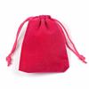 Cadeau Verpakking Fluweel Donker Roze