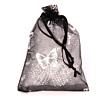Cadeau Verpakking Zwart met Zilverkleurige Vlinders