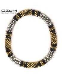 OZOM by Barrucci Roll-On Bracelet Gold/Silver -