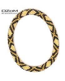 OZOM by Barrucci Roll-On Bracelet Gold/Stripe -