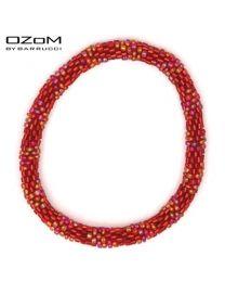 OZOM by Barrucci Roll-On Bracelet Red -