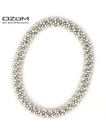 OZOM by Barrucci Roll-On Bracelet Silverwhite -
