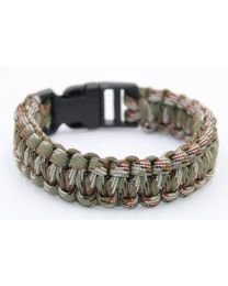 Paracord Heren Armband Army Green -