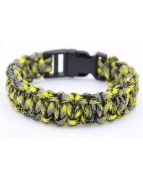Paracord Mannenarmband Grayish Yellow -