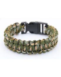 Paracord Heren Armband Jungle -